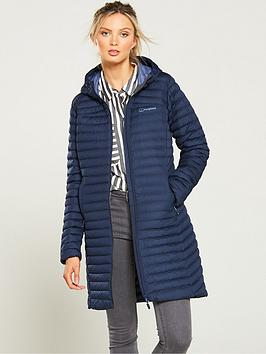 Berghaus   Nula Micro Long Jacket - Navy
