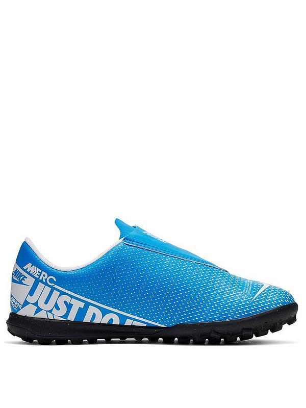 najnowszy dostępny sprzedaż hurtowa Junior Mercurial Vapor 12 (V) Club Astro Turf Football Boots - Blue