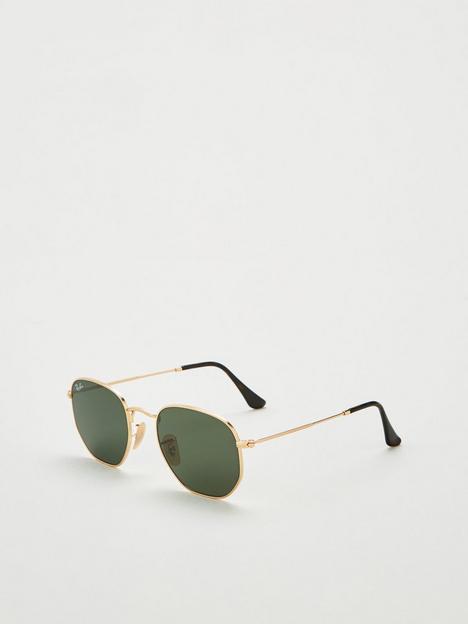 ray-ban-0rb3548nnbsphexagonal-sunglasses