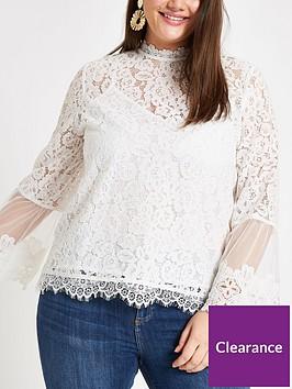 ri-plus-high-neck-lace-blouse--ivory
