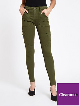 river-island-river-island-amelie-super-skinny-utility-jeans--khaki