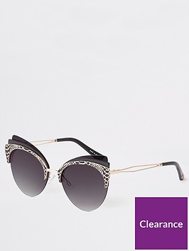 river-island-river-island-triple-layer-cat-eye-sunglasses-black