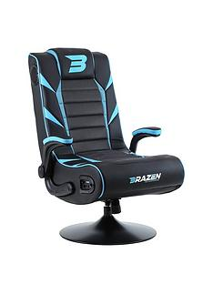 brazen-panther-elite-21-bluetooth-gaming-chair-black-and-blue