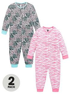 v-by-very-girls-two-pack-animal-button-up-jersey-all-in-ones-multi