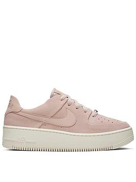 Nike Nike Air Force 1 Sage Low - Pink/White Picture