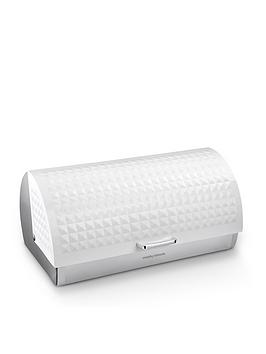 Morphy Richards Morphy Richards Dimensions Roll Top Bread Bin - White Picture