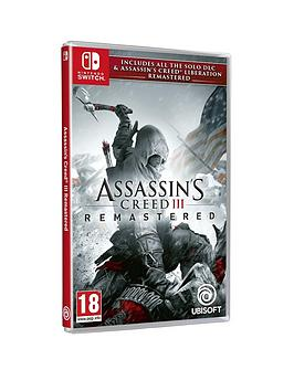 Nintendo Switch   Assassin&Rsquo;S Creed Iii Remastered + Assassin'S Creed Liberations