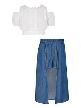 river-island-girls-blue-denim-skort-outfit
