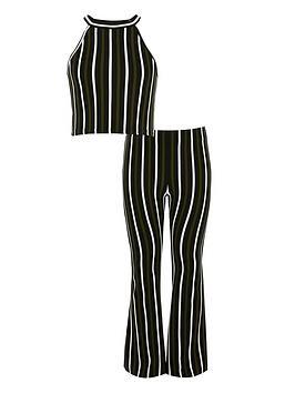 river-island-girls-stripe-crop-top-outfit-khaki