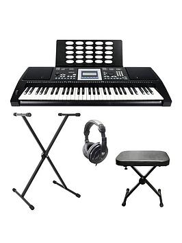 Axus    Axp25 Touch Sensitive Keyboard Pack With Free Online Music Lessons
