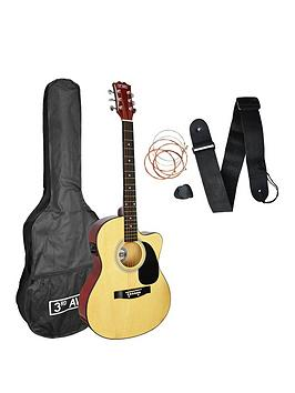 3rd-avenue-3rd-avenue-cutaway-electro-acoustic-guitar-pack-with-free-online-music-lessons