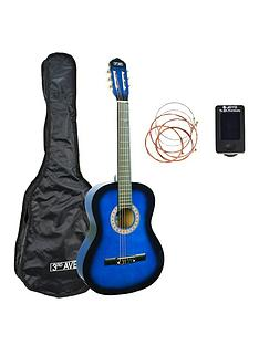 3rd-avenue-3rd-avenue-full-size-classical-guitar-pack-blueburst-with-free-online-music-lessons