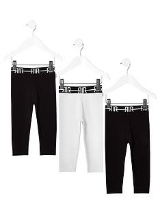 river-island-mini-mini-girls-ri-waistband-legging-multipack-blackwhite