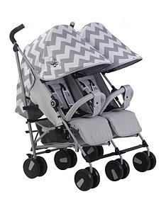 my-babiie-my-babiie-billie-faiers-mb22-grey-chevron-twin-stroller