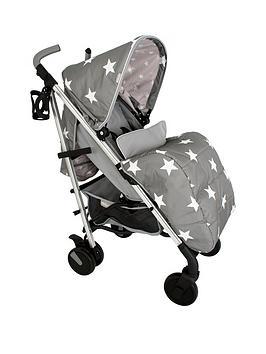 My Babiie My Babiie Billie Faiers Mb51 Grey Stars Stroller Picture