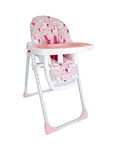 my-babiie-katie-piper-mbhc8un-pink-unicorns-premium-highchair