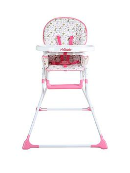 My Babiie My Babiie Mbhc1Un Unicorn Compact Highchair Picture