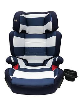 My Babiie My Babiie Group 23 Car Seat - Blue Stripes Picture