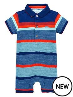 687a62f89b84 Baker by Ted Baker Baby Boys Mango Stripe Romper - Multi