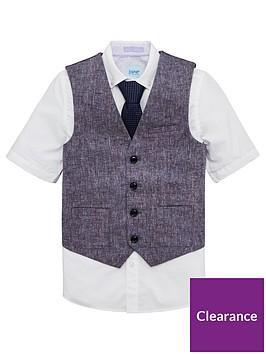 baker-by-ted-baker-boys-teflon-waistcoat-shirt-and-tie-set-multi