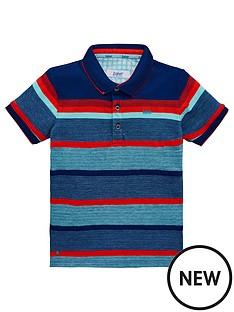 d5182560419c Baker by Ted Baker Boys Mango Stripe Short Sleeve Polo Shirt - Multi
