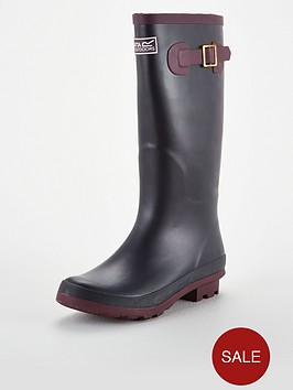 regatta-lady-fairweather-wellington-boots-navyburgundy
