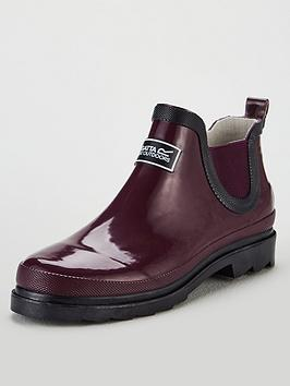 Regatta Regatta Lady Harper Ankle Wellington Boots - Burgundy Picture