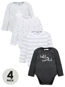 v-by-very-baby-unisex-4-pack-stripes-amp-stars-bodysuits-multi