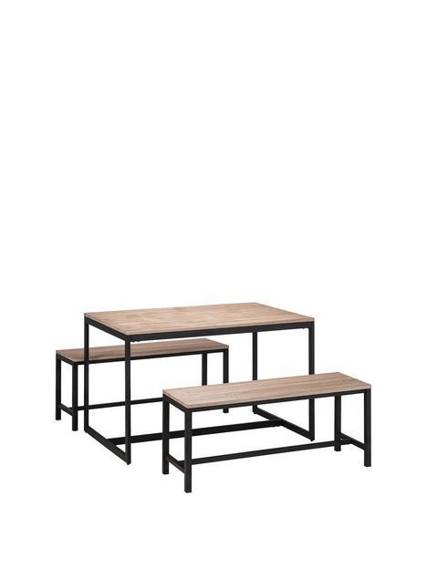 julian-bowen-tribeca-120-cm-dining-table-2-benches