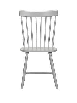 Julian Bowen Julian Bowen Pair Of Torino Dining Chairs - Grey Picture