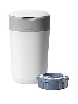 Tommee Tippee Tommee Tippee Twist &Amp; Click Nappy Disposal Tub - Cotton  ... Picture