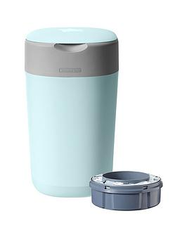Tommee Tippee Tommee Tippee Twist &Amp; Click Nappy Disposal Tub - Cloud  ... Picture