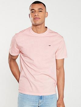 tommy-jeans-washed-logo-t-shirt-pink