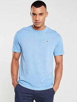 tommy-jeans-washed-logo-t-shirt-blue