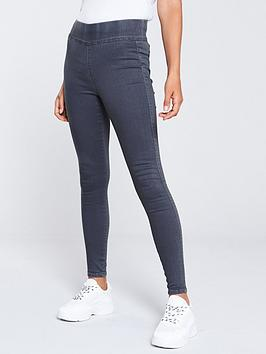 V by Very V By Very High Waist Jegging - Grey Picture