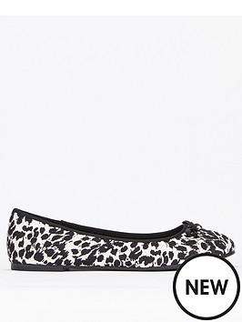 0f50d6e18 Evans Extra Wide Fit Robyn Ballet Shoes | littlewoods.com
