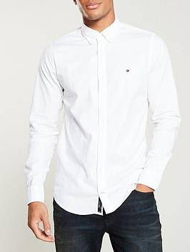 Tommy Hilfiger Tommy Hilfiger Slim Oxford Shirt - White Picture