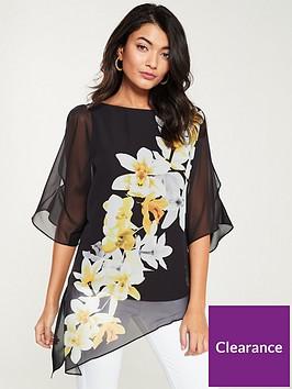 wallis-magnolia-printednbspoverlayernbsptop-black