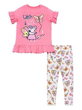 peppa-pig-girls-frill-tee-amp-legging-set-multi