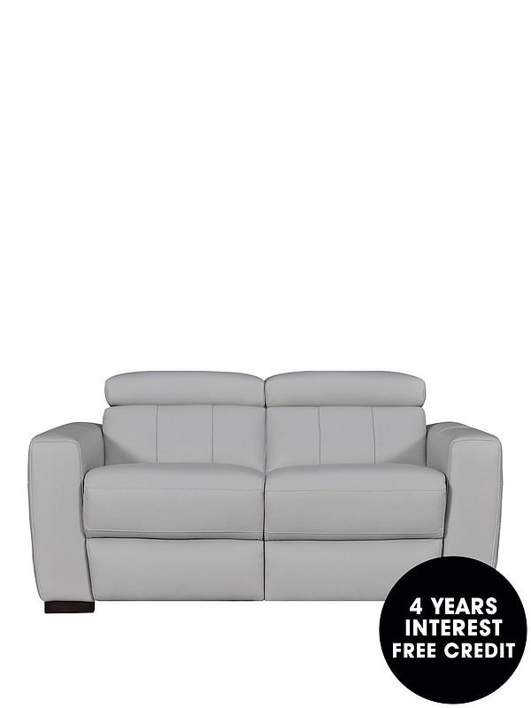 Fine Loire Premium Leather 2 Seater Power Recliner Sofa Machost Co Dining Chair Design Ideas Machostcouk