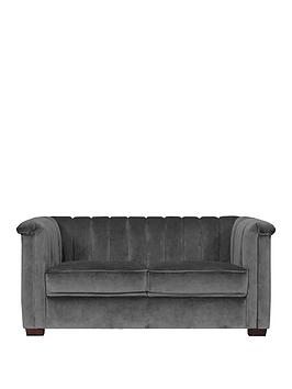 Michelle Keegan Home Michelle Keegan Home Hepburn Fabric 2 Seater Sofa Picture