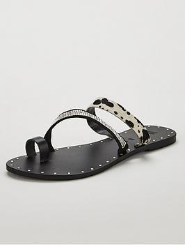 v-by-very-harli-diamante-trim-leather-strappy-sandals-black