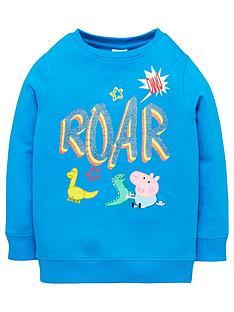 peppa-pig-boys-george-pig-roar-sweat-top-blue