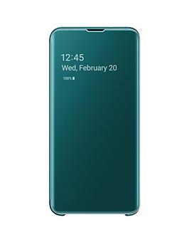 samsung-galaxy-s10e-clear-view-standing-cover