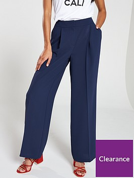 v-by-very-crepe-wide-leg-trouser-navy