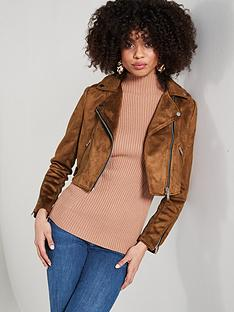 river-island-river-island-suede-cropped-biker-jacket--tan