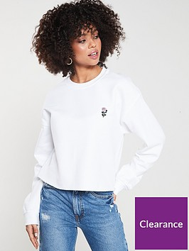 river-island-river-island-rose-embroidered-sweat--white