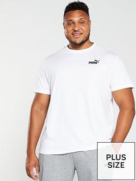 puma-plus-size-essential-small-logo-t-shirt-white