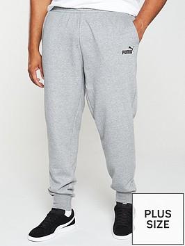 puma-plus-size-essential-logo-pants-grey