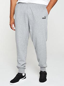 Puma Puma Plus Size Essential Logo Pants - Grey Picture